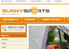 Sunny Sports offers a great selection of camping and outdoors products from the finest-quality brand-names at very competitive prices. They provide world-class service, exceptionally fast delivery and an enjoyable buying experience. It's time for to try it out and get the guaranted satisfaction at Sunny Sports.