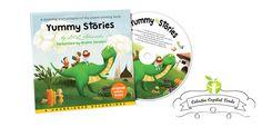 4\= Yummy Stories - CD audio - Copilul Verde