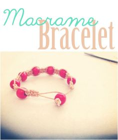 Macrame Bracelet ∙ How To by Francesca S. on Cut Out + Keep