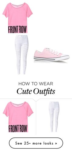 """Cute 1st outfit"" by laurenmaygemmill on Polyvore featuring Converse"