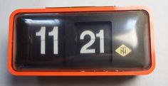 TN PAT-PEND FRANCE Flip Clock, France, French