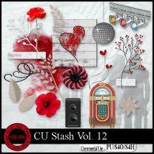 CU Stash Vol. 12 mini kit #CUdigitals cudigitals.com cu commercial digital scrap #digiscrap scrapbook graphics