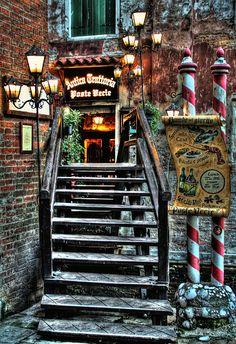 Bridge to the restaurant | Flickr - Photo Sharing!