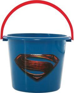 Man of Steel Superman Candy Pail – Spirit Halloween