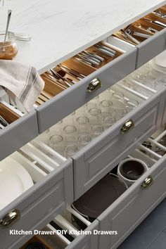 For the Home Kitchen Organization Island Drawers 52 Ideas Tips On Bubble-Proofing Your Home Ikea Kitchen Organization, Diy Kitchen Storage, Home Decor Kitchen, Kitchen Interior, Kitchen Ideas, Pantry Storage, Ikea Kitchen Drawers, Ikea Storage, Pantry Ideas