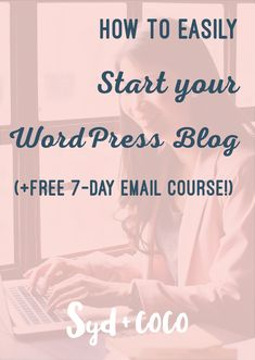 Starting a WordPress Blog can be stressful, especially figuring out the tech stuff. Don't give up! This beginner's guide will show you the step-by-step tech tutorial on how to start your WordPress Blog. This How To Tech Tutorial will show you how to get your blog up and running, even if you've NEVER blogged before. Click on the READ IT button, to read the blog post by Syd and Coco.