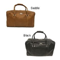 Piel Leather Carry-On Tote Bag - Saddle