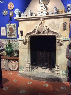 Finestra-xemeneia al Museu del Cau Ferrat
