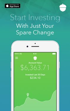 Save and invest your spare change by rounding up your everyday purchases. Learn how you can change your future the easy way. Download Acorns Today!