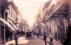 Old Pictures, Old Photos, Athens Greece, Street View, Europe, Canning, Colour, Collection, Color