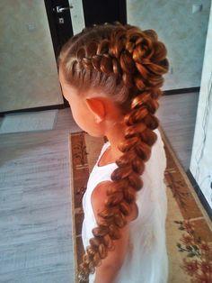 Pretty braid for girls