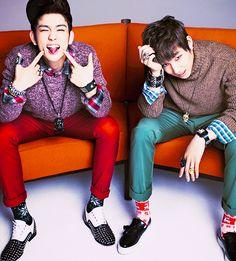 K-Pop trash | GOT7: JR & JB (Park Jinyoung (Junior) & Im Jaebum)