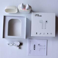 3aa5c7d1af2 I7 TWS Auriculares con Caja de Carga Del Cargador de Auricular Bluetooth  Inalámbrico 4.2 música Auriculares