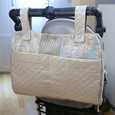 (9) Name: 'Sewing : Universal Stroller Bundle Bag Pattern