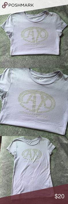 Armani Exchange Top Armani Exchange, Some Small Holes, Missing a Few Gems Armani Exchange Tops Tees - Short Sleeve