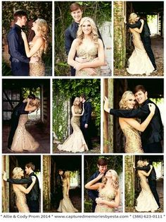 Allie + Cody – Senior Prom Homecoming Portraits 2014 – Lake City, Fl Photographer » Captured Memories by Esta Columbia High Outdoor brick stable Couples Session Formal Dance ideas