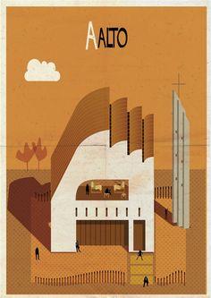 Archibet: um alfabeto ilustrado da Arquitetura