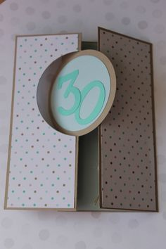 Stampin Up! Geburtstag, Happy Birthday, Thinlits Circle Card, Designerpapier Frisch & Farbenfroh