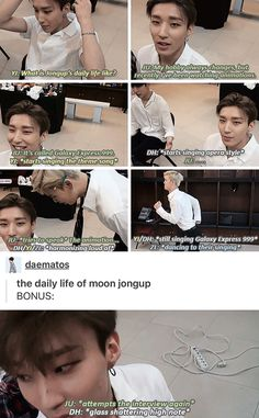 The daily struggles of Moon Jongup  poor baby. | B.A.P