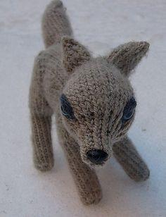 Ravelry: Adorable Wolf Plush pattern by Nicki Moulton