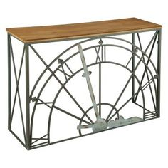 Buy the Hekman 27748 Wood Solids Direct. Shop for the Hekman 27748 Wood Solids 44 Inch Wide Iron Framed Wood Console Table and save. Console Furniture, Entryway Furniture, Accent Furniture, Living Room Furniture, Entryway Tables, Console Tables, Foyer, Home Furniture Shopping, Furniture Sale