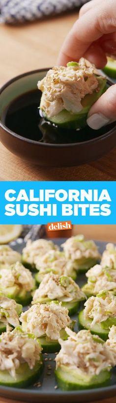 California Sushi Bites