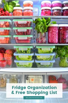 Becoming Nutritarian The Eat to Live 6 Week Plan is part of Vegan Fridge Organization - Learn all about Dr Fuhrman's 6 week Eat to Live diet plan! Find out what to eat and not eat to loose over 21 pounds without exercise! Kitchen Organization Pantry, Refrigerator Organization, Home Organisation, Recipe Organization, Organization Hacks, Organized Fridge, Fridge Storage, Healthy Fridge, Eat To Live