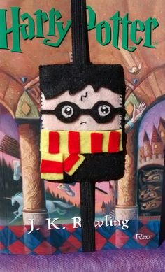 Marcador de página do Harry Potter