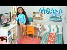 Disney Moana DIY Doll Bedroom - Easy Doll Crafts for Kids - Titi Toys - YouTube
