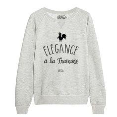 """Sweat """"L'élégance à la française"""""""