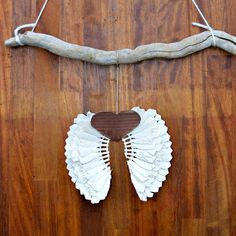 Repurpose Some Old Badminton Shuttlecocks Into Festive Angel Wings