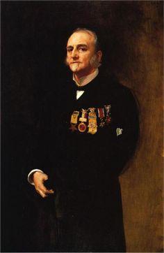 General Lucius Fairchild, 1887  John Singer Sargent