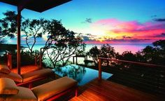 Outback Encounter - Travel + Leisure USA votes Lizard Island Top Hotel in Australia, New Zealand & South Pacific