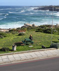 View from the Windsor Hotel in Hermanus, near Cape Town