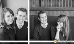 Lafayette Indiana engagement portrait session at Chumley's bar near Purdue University | (c) Brittany Erwin Photography