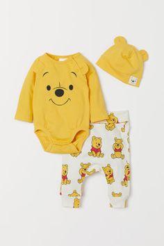 Disney Chaussette Winnie lourson Jaune Taille 0//6 mois