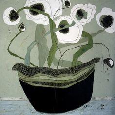Karen Tusinski: On the Side White Poppies