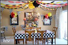 Birthday Party - Cars 2 Theme