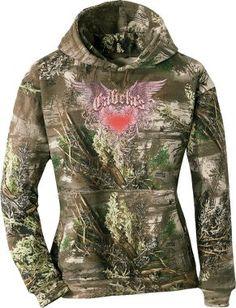 Cabela's: Cabela's Women's Glitter Wings Hoodie