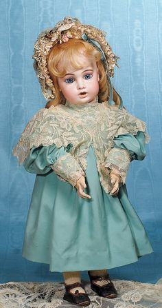 FRENCH BISQUE DOLL                                                                                                                                                                                 More