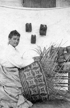 Christine Paul - Chitimacha weaver from How Native And Non-Native Louisiana Women Found Power In Basketry | WWNO