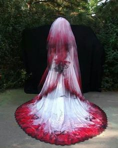 Gothic wedding dress. Check out more awesome designs www.uniqueintuitions.com #gothic #wedding #weddingdress #uniqueintuitions
