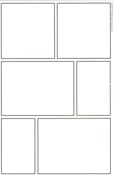 6 panel comic strip template - Google Search | School Crap...Van ...