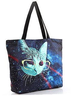Women's Fashion Retro Printing Shopping Shoulder Tote Hobo Bags (Alien cat) Moomsun http://smile.amazon.com/dp/B0148O5DYG/ref=cm_sw_r_pi_dp_AF2Iwb0C4WG4S