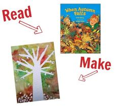 fall books with fall crafts to match!