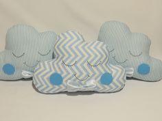 Trio de Almofadas de Nuvem Pequenas