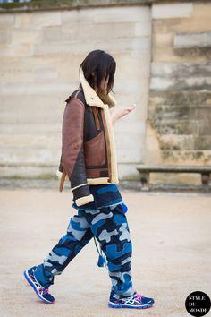 Yu Masui Street Style Street Fashion Streetsnaps by STYLEDUMONDE Street Style…