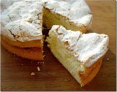 Gateau de Savoie (a light French Sponge Cake)