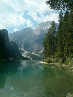 Lake Braies, Dolomites, Italy