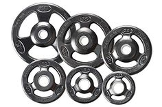 York Barbell 29013 Grip Steel Composite Olympic Iron Plate44; Black - 25 lbs. Color: Black. Weight: 25 lbs. Package Quantity: 1. Excellent Quality. Great Gift Idea.